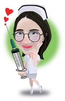 护士节卡通人物素材图片素材