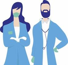 护士节卡通人物设计高清图