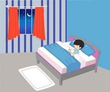 睡眠卡通人物高清图