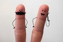 手指画精美图片