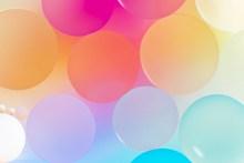 彩色光圈背景图片