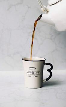 倒咖啡场景图片素材