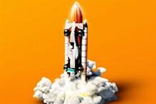 火箭发射模型高清图片
