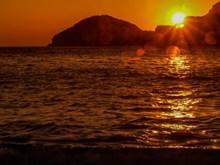 清晨海面日出高清图