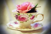 玫瑰花茶素材高清图片