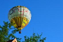 上升热气球图片下载
