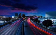 夜幕下的城市图片下载