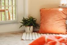 卧室地毯抱枕精美图片