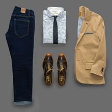 商务鞋服搭配图片素材