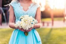 唯美婚纱照小清新图片素材