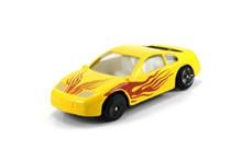 黄色汽车模型图片下载