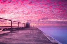 黄昏火烧云唯美意境精美图片