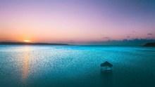黄昏海景唯美高清图