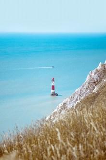 海上眺望台高清图片