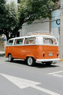 旅行小巴士高清图