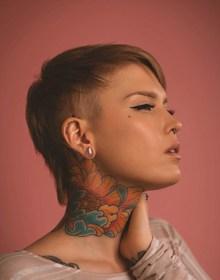 女生酷帅短发发型高清图片