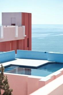 露台蓄水池高清图片