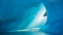 白色冰川美景图片大全
