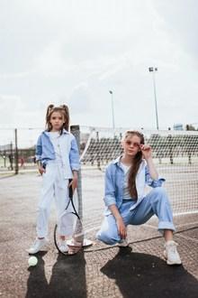 欧美童模时尚写真精美图片