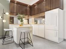 小型开放式厨房高清图