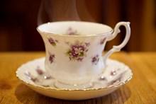 精美复古咖啡杯高清图
