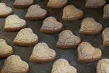 自制心形小饼干精美图片