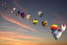 天空热气球风景图片大全
