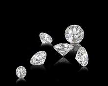 白色钻石精美图片
