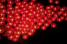 红色灯笼高挂精美图片