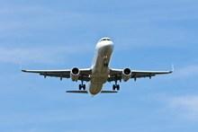 飞机平稳飞行图片大全