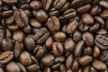 咖啡豆近景特写图片下载