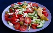 番茄沙拉高清图