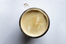 香浓牛奶咖啡高清图