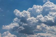 蓝天积云精美图片