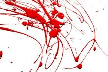 红色油漆飞溅精美图片
