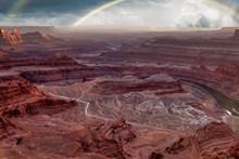 红峡谷图片