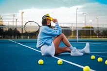 网球美女人体艺术摄影图片大全