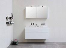 白色家居浴室柜图片