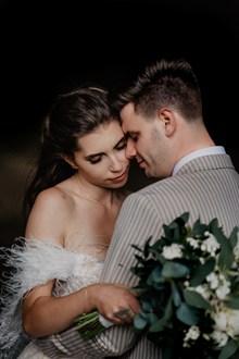 治愈系情侣婚纱高清图