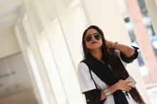 时尚墨镜东南亚美女高清图片