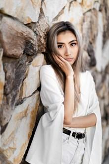 日韩美女人体模特精美图片