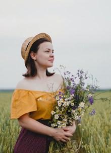 田园风美女人体艺术摄影图片下载