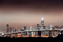 灯火阑珊城市夜景图片大全
