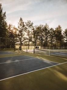 户外网球运动场图片大全