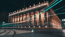 欧洲古建筑夜景高清图