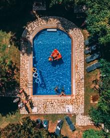 酒店度假泳池图片大全