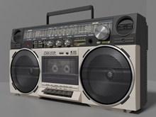 老式收音机高清图