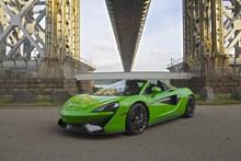 绿色跑车图片大全