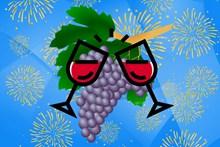 葡萄酒广告背景精美图片