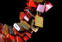爱情挂锁素材图片下载